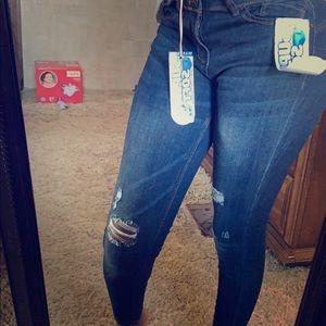 Brand new wax skinny jeans